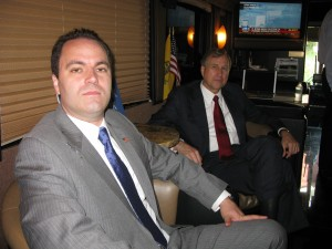 Speaking with George Phillips and NY GOP chairman Ed Cox - 2010