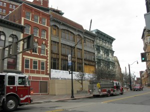December 2010 Downtown Binghamton fire remains