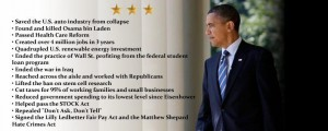 Obama Success List