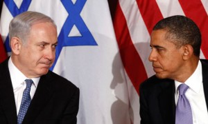 Prime Minister Netanyahu and Pres. Obama at UN in 2011