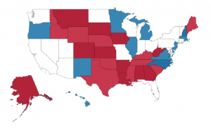 Nationwide results of 2014 midterm for Senate