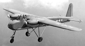 WWII TDN-1 drone