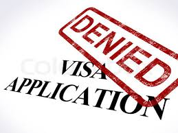 denied visa