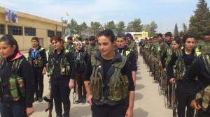 YPG Syrian Kurd Fighters