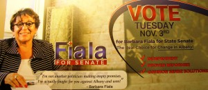Barbara Fiala election mailer front