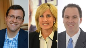 In order of appearance, Steve Wells; Claudia Tenney; George Phillips
