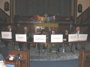 Tabernacle United Methodist Candidate Forum September 15, 2016