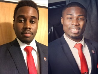 College Republican leaders: Paul-Anthony Cuesta and Carne Burns