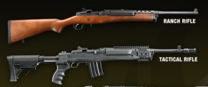 Ruger Mini-14 legal and banned versions of same firearm