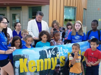 """Kenny's Kids, a non-profit charity, announcing """"Fleafest"""" to raise funds for 30 scholarships."""