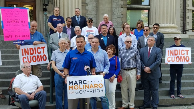 Press Conference: Marcus Molinaro, candidate for NY Governor