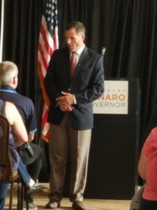Candidate Marc Molinaro town hall in Binghamton NY