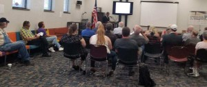 AFRTC and public learn about Red Flag legislation