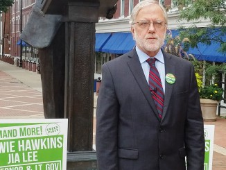 Howie Hawkins of Green Party