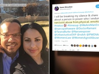 Karen Monahan alleges abuse by Keith Ellison of DNC