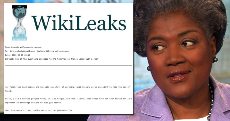 Wikileaks revelation on Donna Brazille and Dem Party