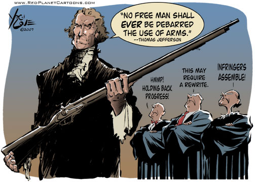 @nd Amendment - then and now