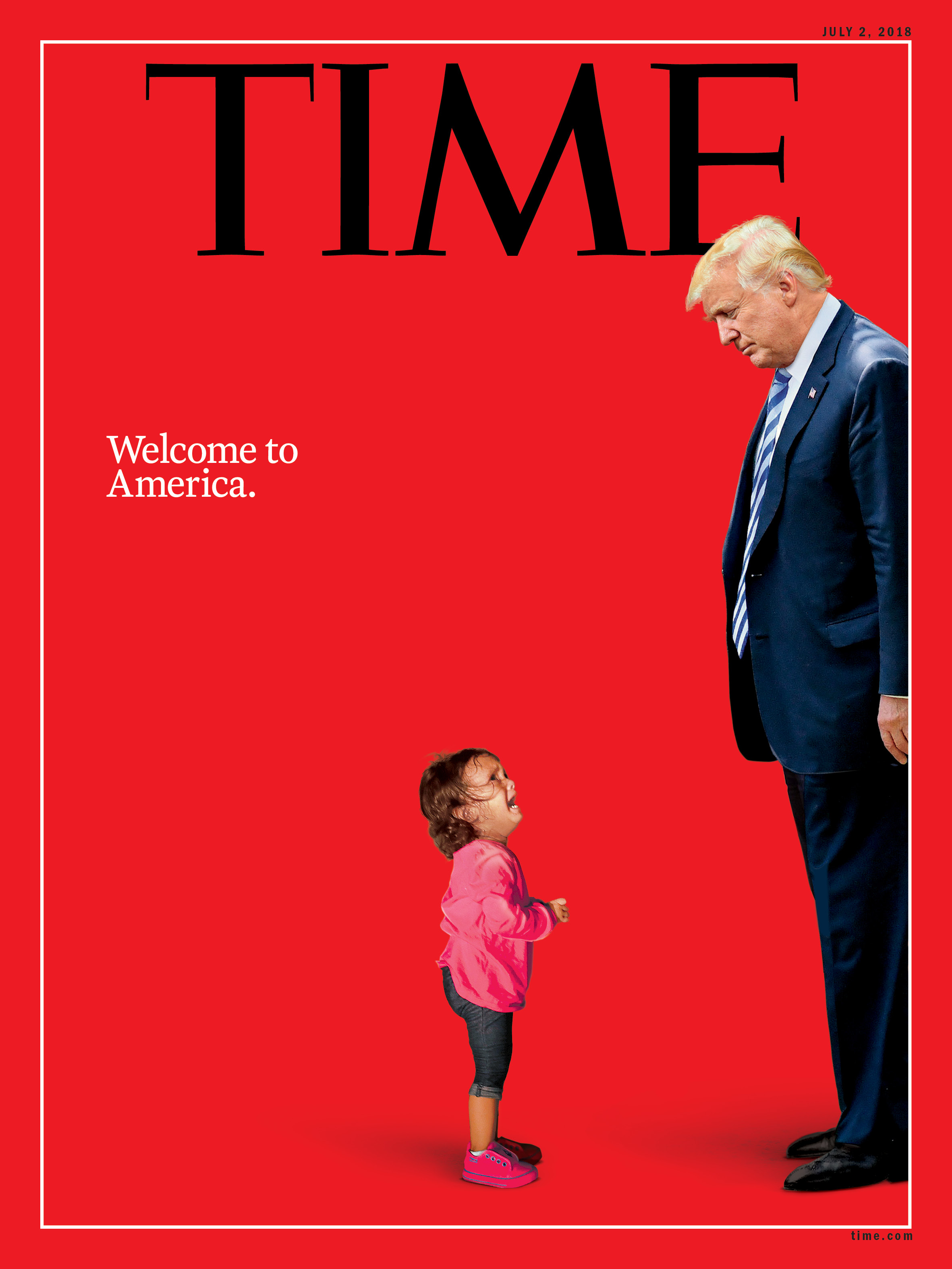 TIME Magazine cover is false