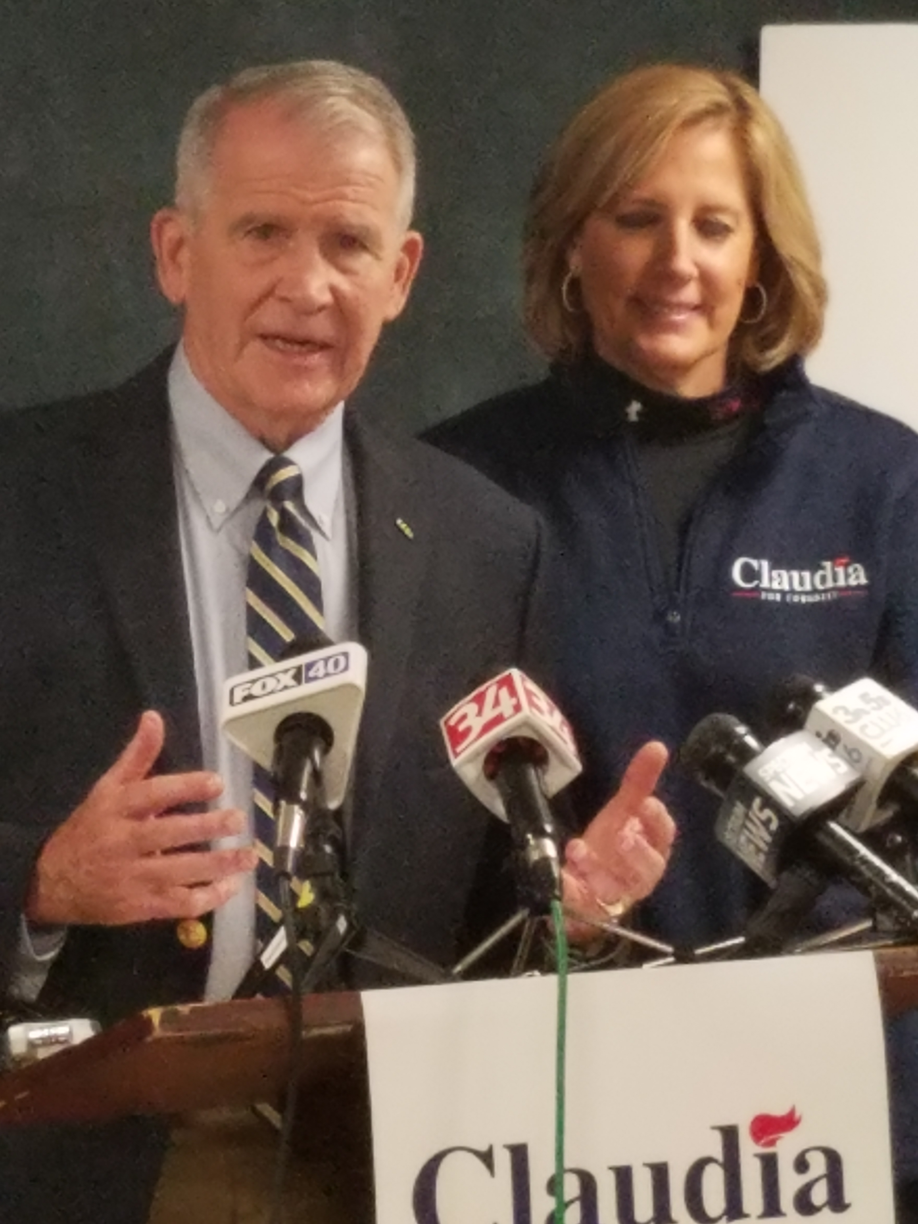 NRA president Col. Oliver North endorses Rep. Claudia Tenney