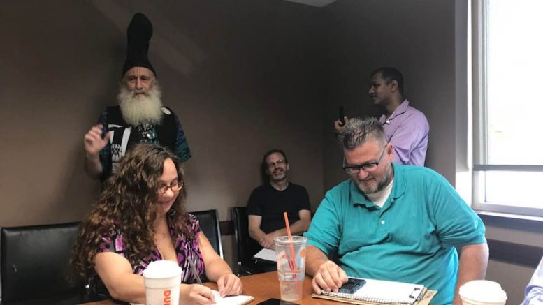 Vermin Supreme is the first 2020 presidential candidate to visit Southern Tier of NY