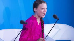 16 yr old Climate Change activist Greta Thunberg scolds UN
