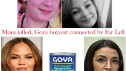 Far Left is connection between Goya boycott and Jessica Whitaker murder