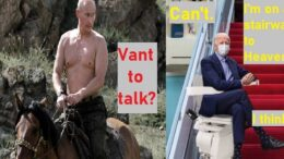 Vladimir Putin Vs. Joe Biden