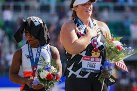 Gwen Berry continues her athlete activism as she places 3rd and hope to protest at Olympics
