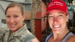 Air Force veteran Ashli Babbitt, only person killed on January 6th, by Capitol Police Lt. Michael Byrd