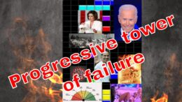 The tower of Progressive ideology in the Biden Administration