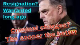 Gen. Mark Milley colludes with China
