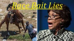 Maxine Waters lies about Haitians and Whips